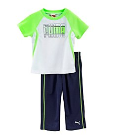 PUMA® Baby Boys' Shadow Performance Set