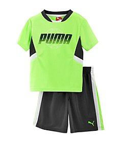 PUMA® Baby Boys' Performance Shorts Set