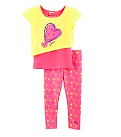 PUMA® Baby Girls' Hearts and Dots Set