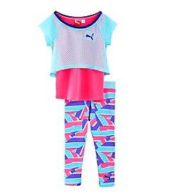 PUMA® Baby Girls' Layered Mesh Set