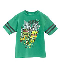 Nickelodeon® Boys' 4-7 Short Sleeve Shell Shocked Tee