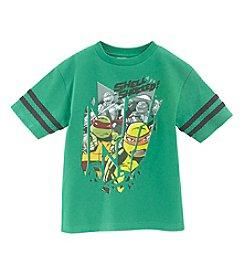 Nickelodeon® Boys' 4-7 Short Sleeve Shell Shocked Tee