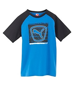 PUMA® Boys' 2T-20 Short Sleeve Shield Tee