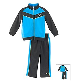 PUMA® Boys' 2T-7 2-Piece Chevron Outfit Set