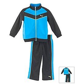 PUMA® Boys' 2T-7 2-Piece Chevron Outfit Set