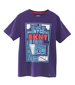 DKNY® Boys' 2T-20 Welcome To NYC Tee