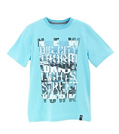 DKNY® Boys' 2T-20 Short Sleeve Big City Tee