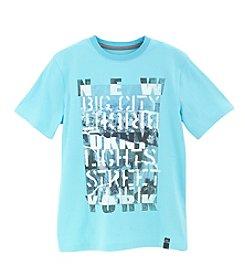 DKNY® Boys' 2T-20 Short Sleeve Big City Tee