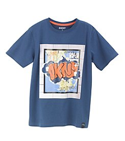 DKNY® Boys' 2T-20 Short Sleeve Subway Tee