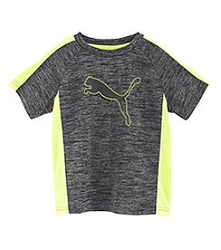 PUMA® Boys' 2T-20 Short Sleeve Heather Tee