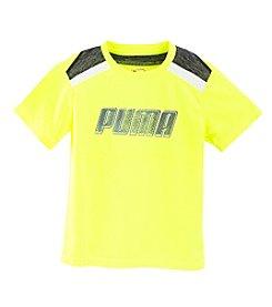 PUMA® Boys' 2T-20 Short Sleeve Logo Tee
