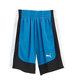 PUMA® Boys' 2T-20 Active Curve Shorts