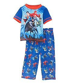 Marvel® Boys' 2T-4T 2-Piece Justice League Pajama Set