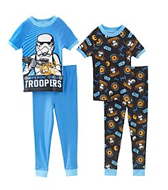Star Wars® Boys' 2T-4T 4-Piece Star Wars Rebels Pajamas Set