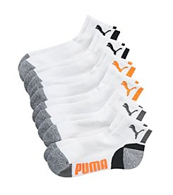 PUMA® Boys' 6 Pack Quarter Crew Socks