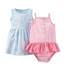 Carter's® Baby Girls' 2-Piece Dress & Bodysuit Set
