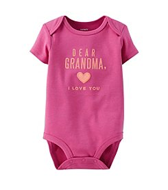 Carter's® Baby Girls' Dear Grandma Bodysuit