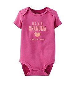 Carter's® Baby Girls' Dear Grandma Bodysuit
