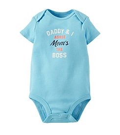 Carter's® Baby Boys' Mom's The Boss Bodysuit