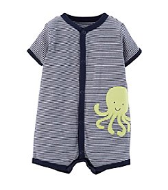Carter's® Baby Boys' Striped Octopus Creeper