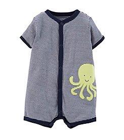 Carter's® Baby Boys' Striped Octopus Creeper