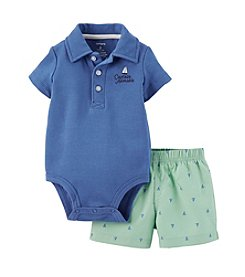 Carter's® Baby Boys' 2-Piece Bodysuit & Shorts Set