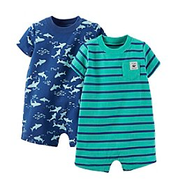Carter's® Baby Boys' 2-Piece Striped Romper Set