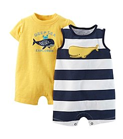 Carter's® Baby Boys' 2-Piece Striped Romper