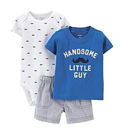 Carter's® Baby Boys' 3-Piece Bodysuit & Shorts Set