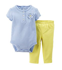 Carter's® Baby Girls' 2-Piece Bodysuit & Pants Set
