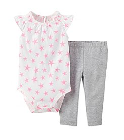 Carter's® Baby Girls' 2-Piece Bodysuit & Pants Set