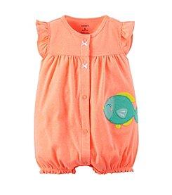 Carter's® Baby Girls' Neon Fish Applique Creeper