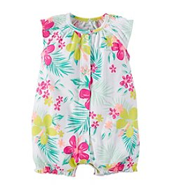 Carter's® Baby Girls' Cotton Tropical Creeper