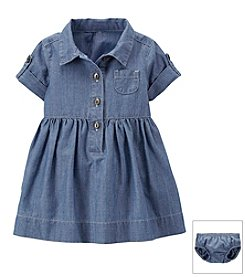 Carter's® Baby Girls' Denim Shirt Dress