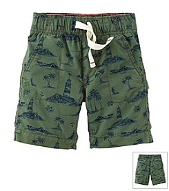 Carter's® Baby Boys' Pull-On Print Woven Shorts
