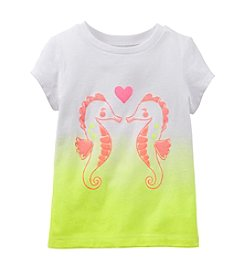 Carter's® Baby Girls' Seahorse Love Ombre Tee