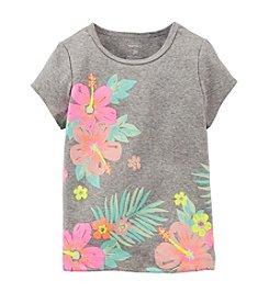 Carter's® Baby Girls' Tropical Hibiscus Tee