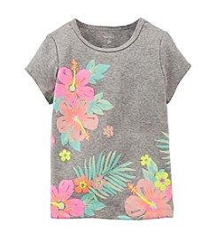 Carter's® Baby Girls' Tropical Hibiscus Tee