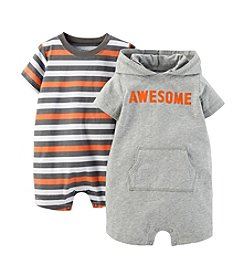 Carter's® Baby Boys' 2-Piece Romper Set