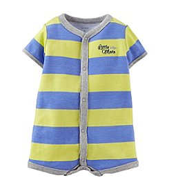 Carter's® Baby Boys' Cotton Striped Creeper