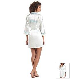 Linea Donatella® Silky Bridal Robe