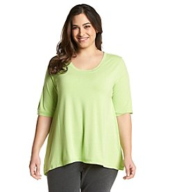HUE® Plus Size Swing Sleep Tee