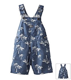 OshKosh B'Gosh® Baby Boys' Palm Tree Shortalls