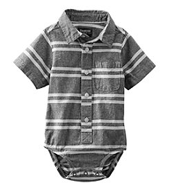 OshKosh B'Gosh® Baby Boys' Striped Button-Front Bodysuit