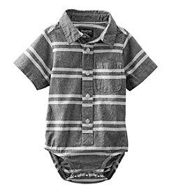 OshKosh B'Gosh® Baby Boys' Striped Button-Front Bodysuit
