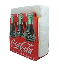 Sunbelt Coca-Cola® Wood 6-pk. Napkin Holder