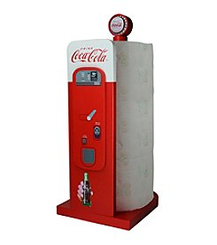 Sunbelt Coca-Cola® Wood Vending Machine Paper Towel Holder