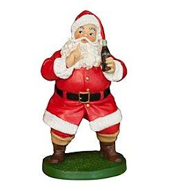 Sunbelt Coca-Cola® Sundblom Santa Keep Quiet Figurine