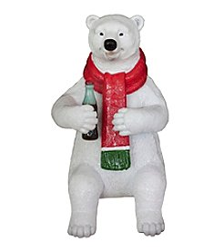 Sunbelt Coca-Cola® Polar Bear Sitting Figurine