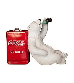 Sunbelt Coca-Cola® Polar Bear with Cooler Figurine